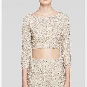 """Alice + Olivia """"Lacey"""" Embellished top"""